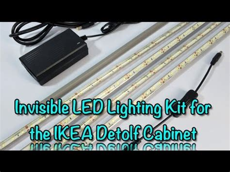invisible led lighting kit installation guide