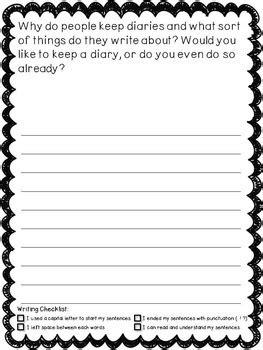 grade writing prompt journal    loop teachers pay teachers