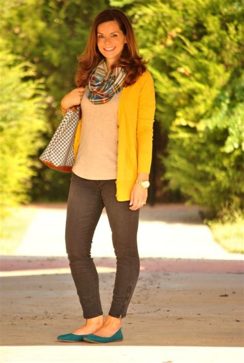 155 best images about How to Wear Mustard Cardigan on Pinterest | Yellow sweater Cognac boots ...