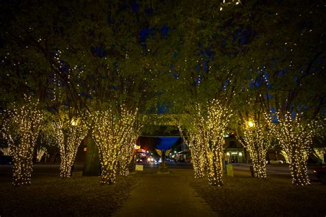 downtown pensacola lights up to get into holiday spirit