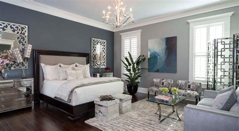Master Bedroom With High Ceiling By Monique Breaux