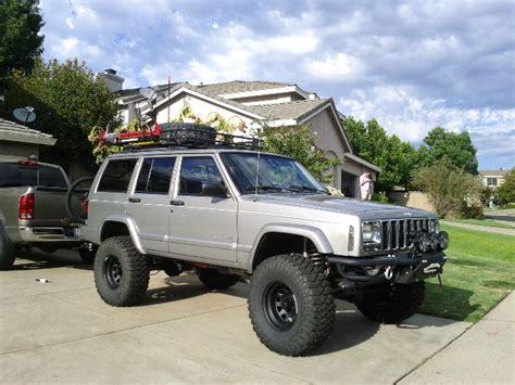 silver jeep lifted operation jeep cherokee resurrection 2000 cherokee xj