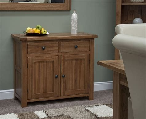 Living Room Sideboard by Warwick Solid Oak Living Dining Room Furniture Small