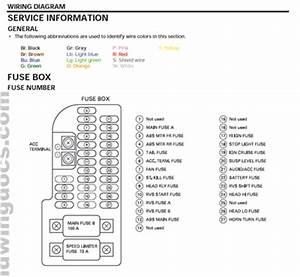 Fuse Panel  U2022 Gl1800  2001
