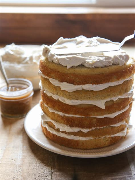 bourbon butterscotch layer cake completely delicious