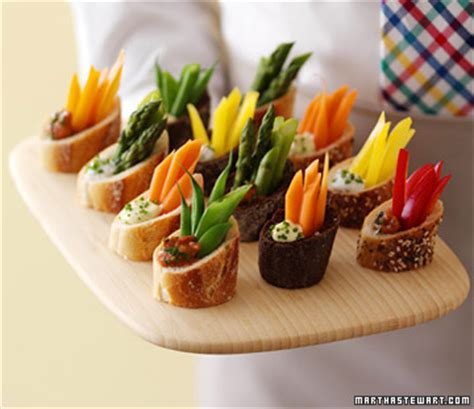 dip canapes frosting event appetizer ideas