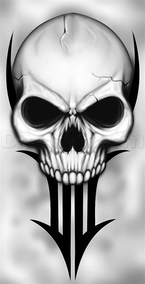 draw  traditional skull tattoo step  step tattoos pop culture   drawing