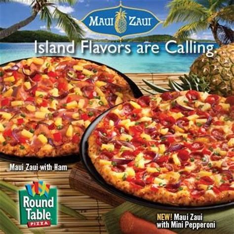 round table pizza maui zaui pin by round table pizza spokane on pizza pinterest