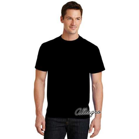 alliegro kaos pria polos distro premium kaos terbaru keren murah hitam