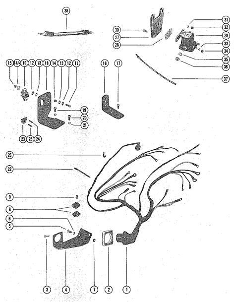1978 Mercruiser 898 Wiring Diagram by каталог запчастей Mercruiser остальные 888 2 Bbl Ford
