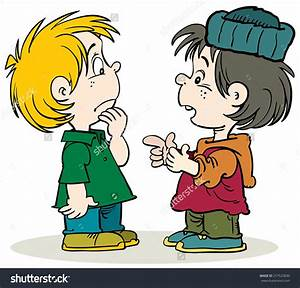 Two Boy Talking Clipart (72+)