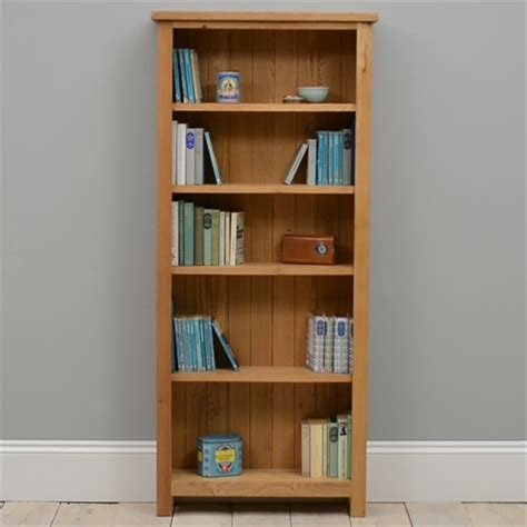 Assembled Bookcases by Lyon Oak Assembled Bookcase 5 Shelves P361 With