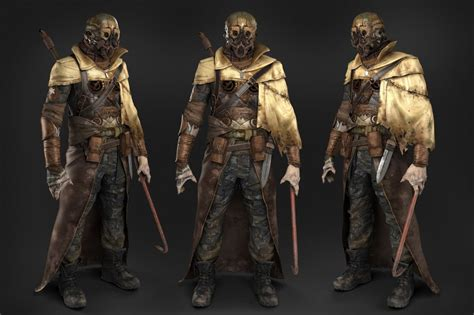 fallout  amazing post apocalyptic character concept art developed  artist