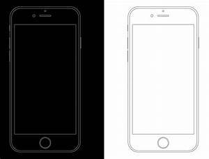 free minimal apple iphone 6s wireframe templates psd titanui With iphone wireframe template illustrator