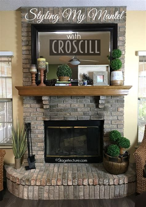 fireplace shelf ideas 4 easy fireplace mantel decorating ideas with croscill