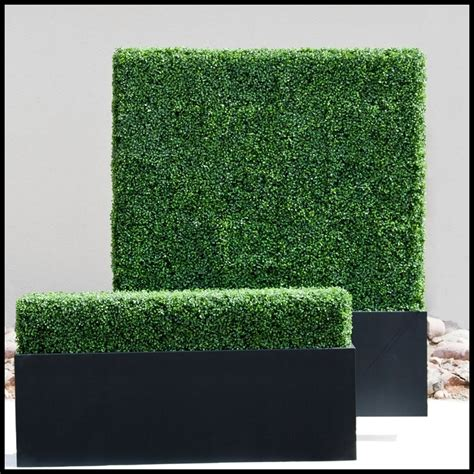 outdoor faux plants artificial hedges outdoor artificial boxwood hedge
