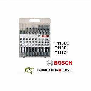 Lame Scie Sauteuse Bosch : lame de scie sauteuse bosch 2607010629 lot de 10 hd ~ Dailycaller-alerts.com Idées de Décoration