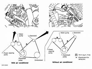 1997 Nissan Sentra Serpentine Belt Routing And Timing Belt