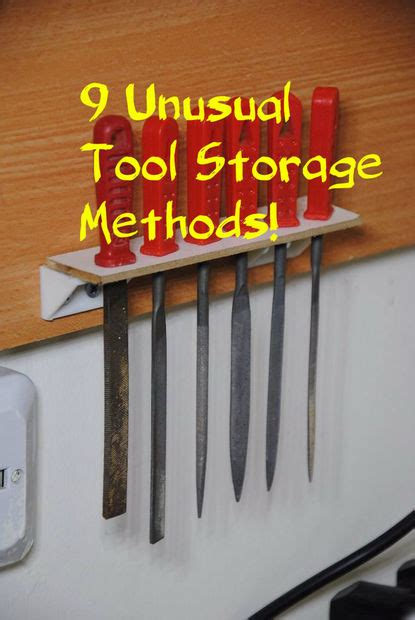 5 alternative methods to storing 9 unusual tool storage methods for your workshop 9 steps with pictures