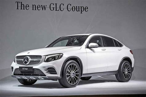 20182019 Mercedesbenz Glc Coupe  A Competitor To Bmw X4