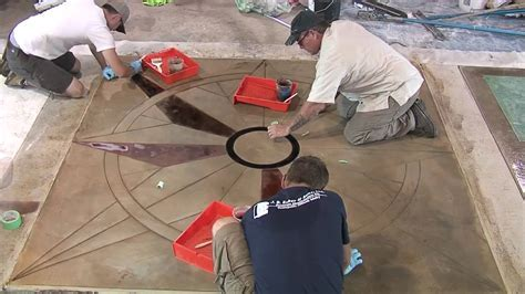 Saw Cutting Concrete Patterns & Designs   YouTube