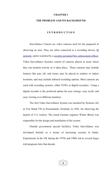 thesis  documentation