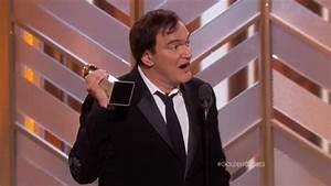 Quentin Tarantino Accepts Golden Globe for Ennio Morricone ...