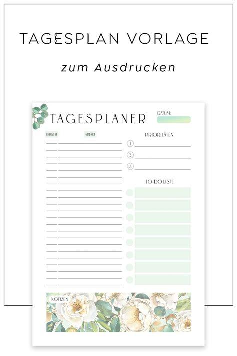 Klaviertastatur zum ausdrucken klaviertastatur zum ausdrucken pdf die einfachste davon ist uber den kauf einer penulis mania from tse3.mm.bing.net. Tagesplan Vorlage zum Ausdrucken | Bloomy Green | Swomolemo Printables