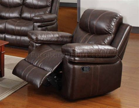 Espresso Leather Loveseat by 7272 Reclining Sofa In Espresso Bonded Leather W Options