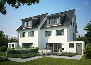 Doppelhaus Fertighaus Schlüsselfertig : doppelhaus twin xxl von kern haus komfort auf 3 ebenen ~ Frokenaadalensverden.com Haus und Dekorationen