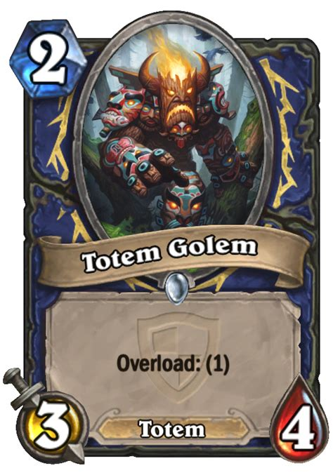 Hearthstone Totem Deck 2015 by Totem Golem Hearthstone Card