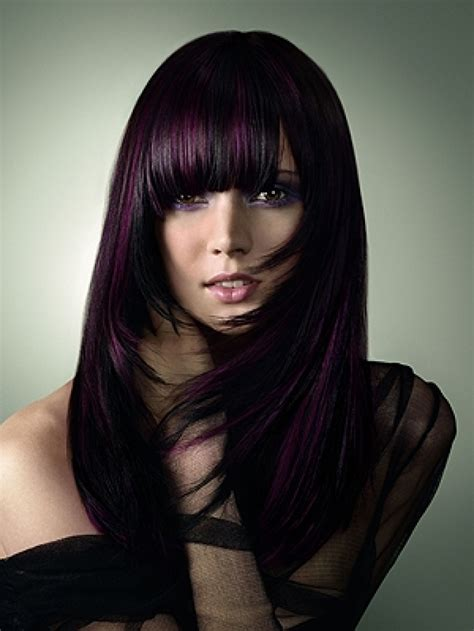 Dark Purple Hair Color Ideas 2013