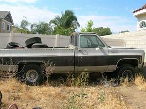 Purchase Used 1979 Chevy Silverado Long Bed 4x4  Project
