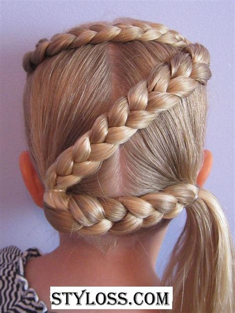 cool hairstyles for girls with short hair for school