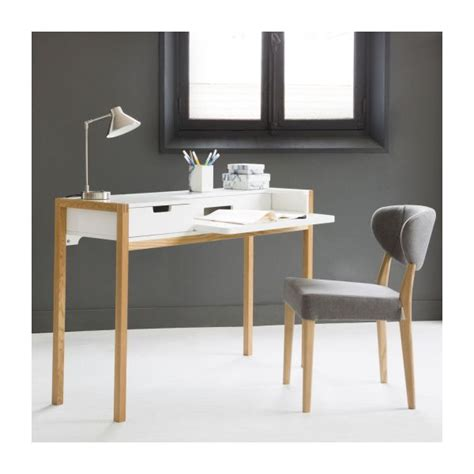 bureau habitat farringdon bureaux blanc naturel bois habitat