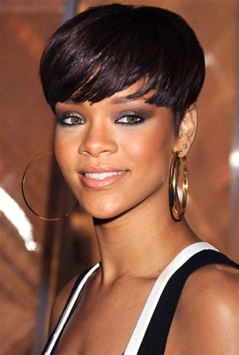 photo  short hairstyles  african american women
