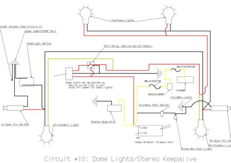 dome lights wiring diagram 1998 subaru forester dome light