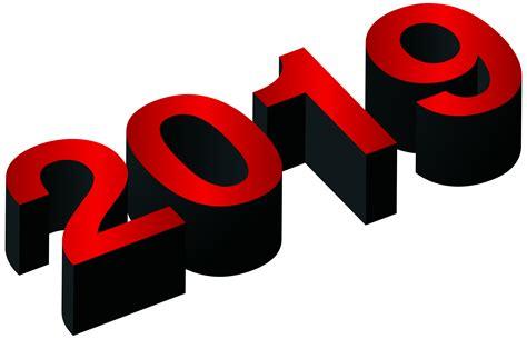 2019 Red Black Png Clip Art Image