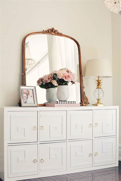 storage chest furniture how to glam up the ikea kallax unit the pink