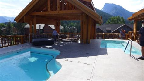 hotels in banff with tub tubs on roof top picture of moose hotel and