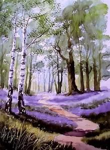 Video tutoriales para pintar paisajes en Acuarela por Terry Harrison Pintura y Artistas