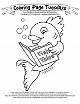 Coloring Library Pages Teacher Books Week National Fish Clipart Popular Tuesday Printable Swim Bass Bananas Hole Sky Clip Alleged Mh370 sketch template