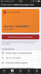 Breuninger Card Abrechnung : breuninger mobile payment through the back door future of shopping ~ Themetempest.com Abrechnung