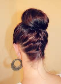 Braided Bun with Braid in the Back