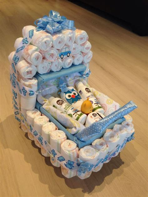 Baby Shower Ideas Baby Shower Present Nappy Stroller Idea Baby Shower