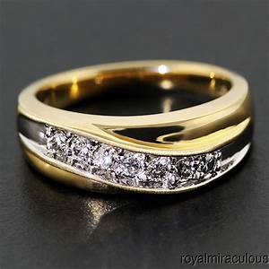 Extraordinary and unique mens wedding bands for Mens diamond wedding rings yellow gold