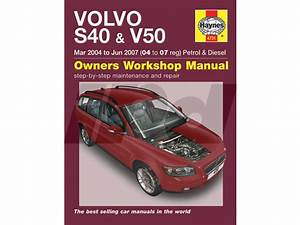 Volvo Haynes Manual For P1 S40  U0026 V50 115416 9781844257577