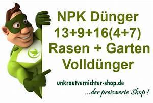 Npk Dünger Zusammensetzung : npk d nger 13 9 16 4 7 volld nger 25 kg ~ Frokenaadalensverden.com Haus und Dekorationen
