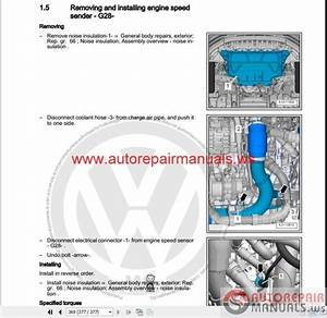 Auto Repair Manuals  Volkswagen Touran 2016 Workshop Manuals