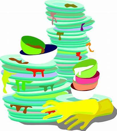 Dishes Dirty Clipart Dish Sink Carrying Cliparts